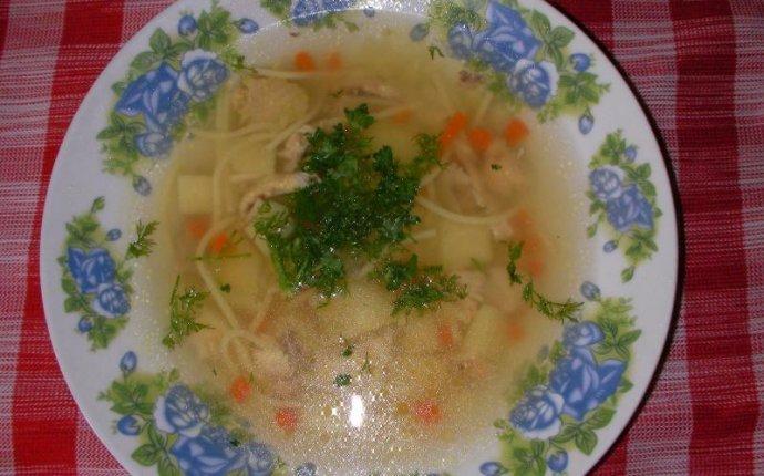 Куриный суп с вермишелью и картошкой | Рецепт 1.menu
