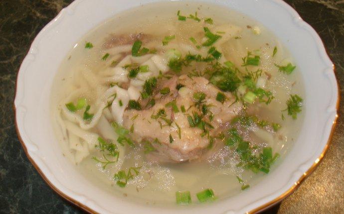 суп лапша рецепт с фото